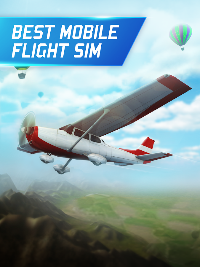 Flight Pilot Simulator 3D Free Screenshot 1