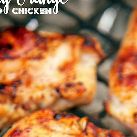 Honey Orange Grilled Chicken