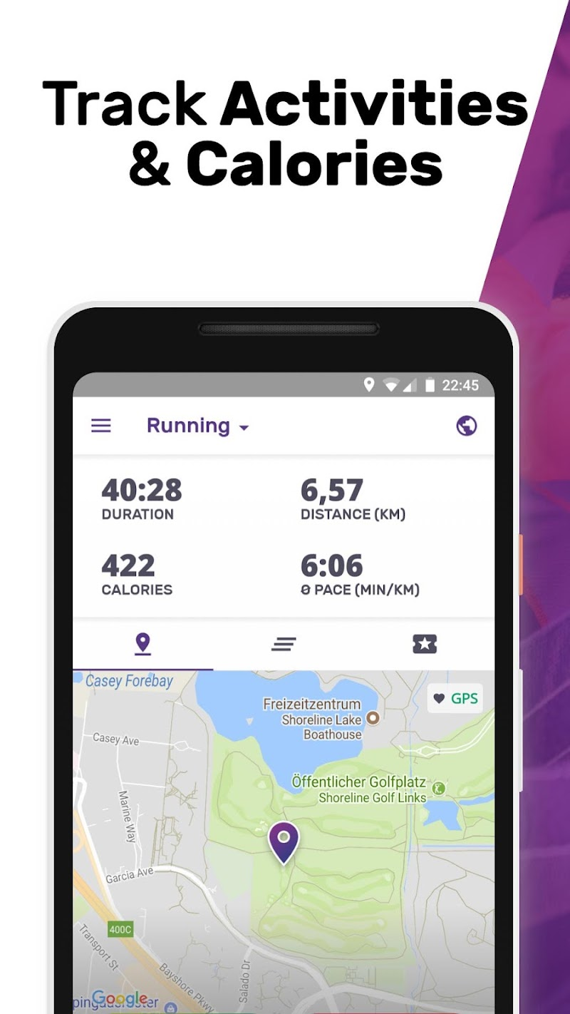Running for Weight Loss Walking Jogging my FIT APP Screenshot 0