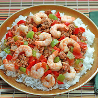 Shrimp Creole with Italian Sausage