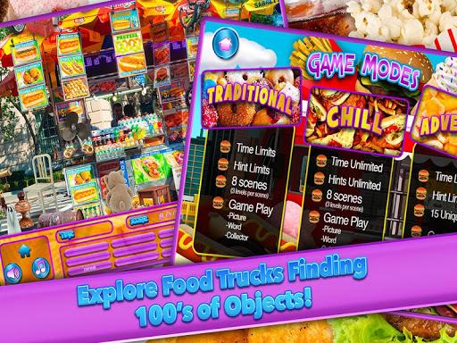 Hidden Object Junk Food Truck - screenshot