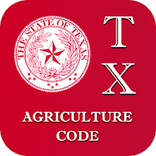 Texas Agriculture Code 2015