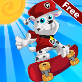 Paw Puppy The Skater APK for Ubuntu