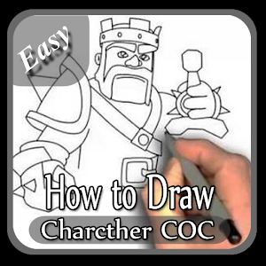 How To Draw Easy COC Characthers