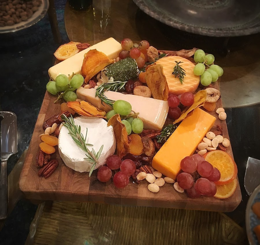 Fruit and Cheese Platter by Eric Michaels - Food & Drink Plated Food ( tasty, fruit, elegant, food, nuts, cheese, appetizer,  )