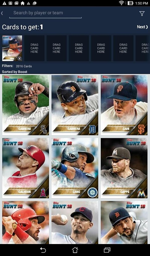 MLB BUNT: Baseball Card Trader Screenshot 6