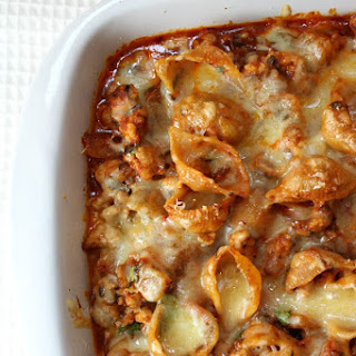 Cheesy Turkey Baked Pasta