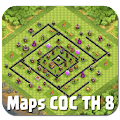 App Best Maps COC TH 8 APK for Kindle