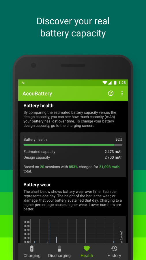 Accu​Battery Screenshot 3