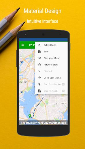 MyRoutes Route Planner Pro screenshot 3
