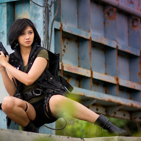 Army by Nanto 사파이어 - People Portraits of Women ( euodia )