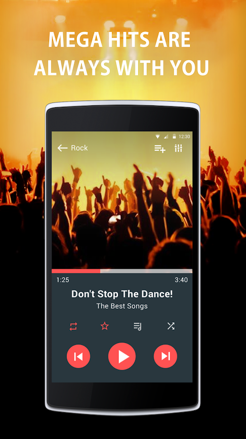 Just Music Player Pro Screenshot 1