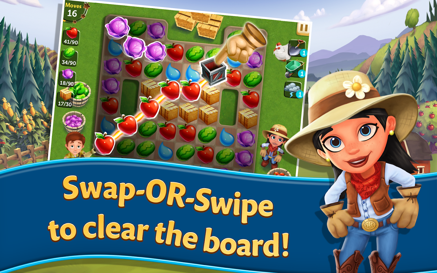 FarmVille: Harvest Swap Screenshot 12