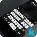 Black & White Keyboard Theme APK for Bluestacks