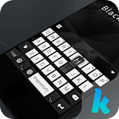 Download Full Black & White Keyboard Theme 42.0 APK