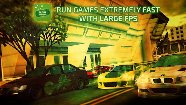 Sunshine Emulator for PSP apk screenshot