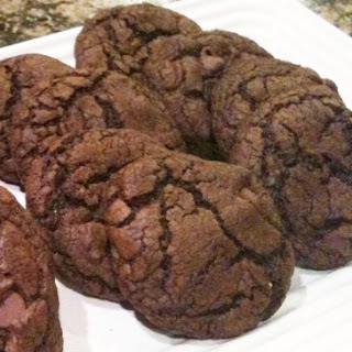 "Easy, Delicious ""Cheat"" Chocolatey Chocolate Cookies"