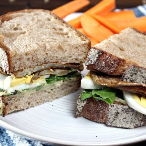 Egg & Eggplant Sandwich and GIVEAWAY WINNER