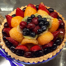 Fruit Tart is Delicious! by Lope Piamonte Jr - Food & Drink Candy & Dessert (  )