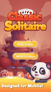 Klassischer Solitaire Panda android spiele download