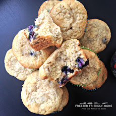 Blueberry Banana Bread Muffins