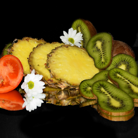 fruits,tomatoes and the flower by LADOCKi Elvira - Food & Drink Fruits & Vegetables