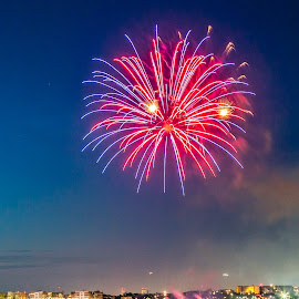 Fireworks by Cary Chu - Abstract Fire & Fireworks (  )