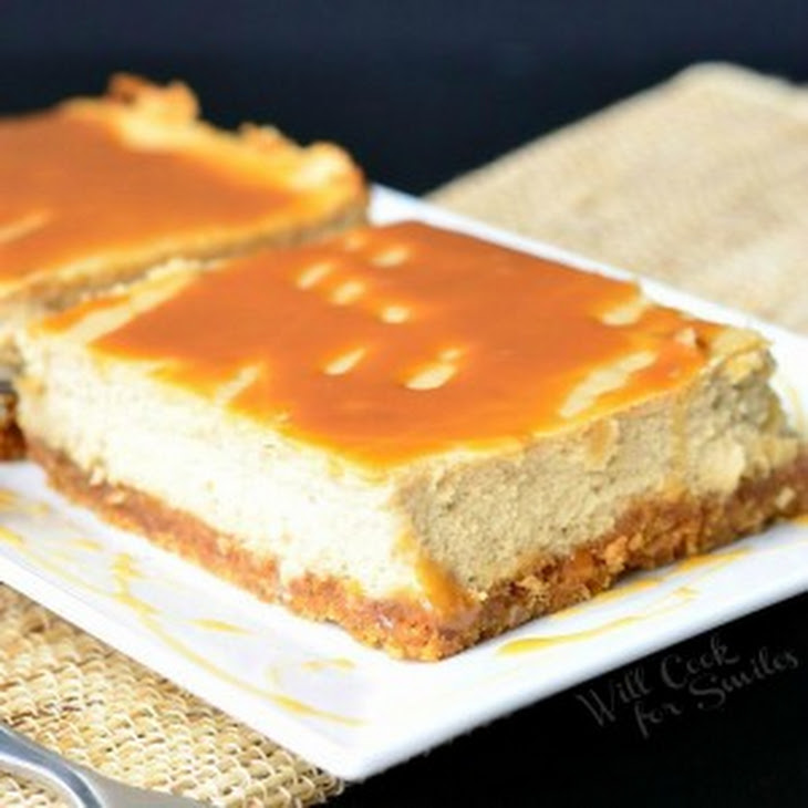 Caramel Macchiato Cheesecake Bars Recipe | Yummly