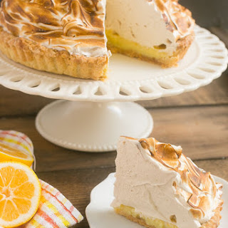 Lemon Tart with Brown Sugar Meringue