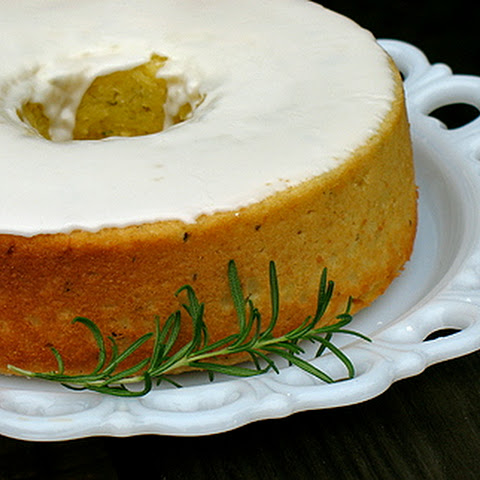 Lemon Rosemary Olive Oil Cake