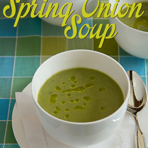 Spring Onion Soup Completely Unadorned