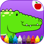 Reptiles Kids Coloring Game 5 Apk
