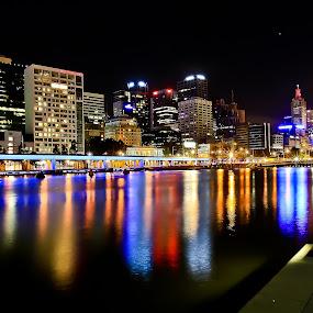 Yarra River by Handoko Lukito - City,  Street & Park  Vistas ( yarra river, melbourne, australia )