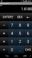 Screenshot of RPNcalculator
