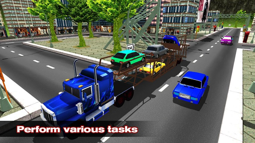 android Car Transporter Simulator 2016 Screenshot 4