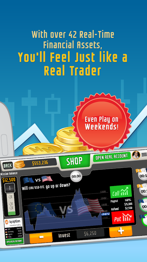 Casual Trading Education Game Screenshot 1