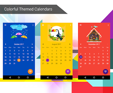 App Calendar 2017 - Diary, Holidays and Reminders apk for kindle fire