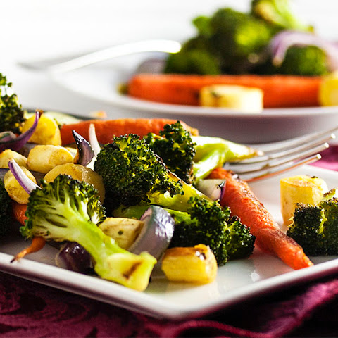 Simple Roasted Mixed Vegetables