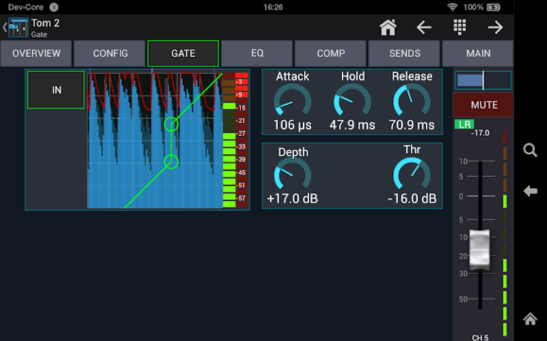 android Mixing Station Qu Pro Screenshot 8