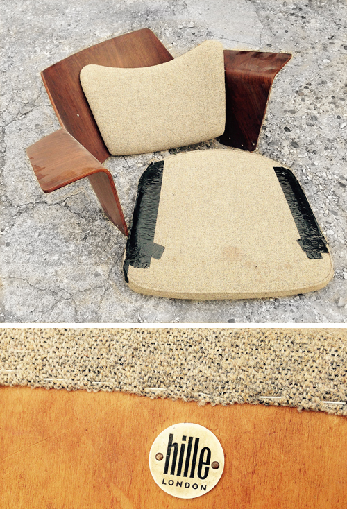 Restoration of a Robin Day Festival Hall Lounge Chair by L. A. Polishers