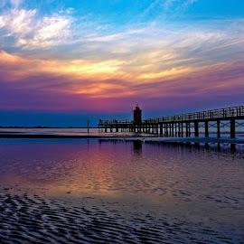 Sunrise by Michaela Firešová - Landscapes Waterscapes ( sunrise, seascape )