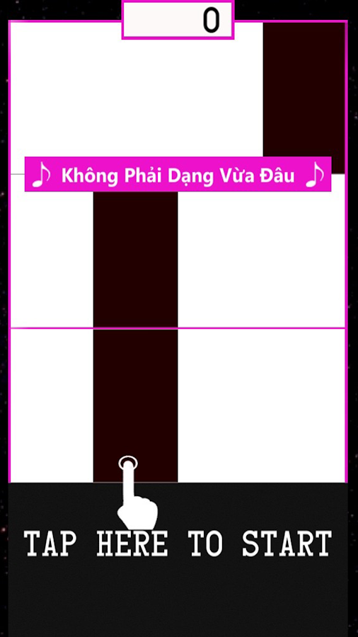 Son Tung MTP Piano Game Screenshot 3