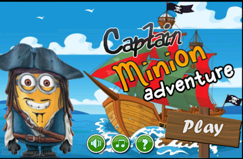Captain Minion adventure - screenshot