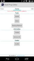 Screenshot of Build Prop Editor