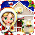 Christmas Dollhouse Games APK for Bluestacks