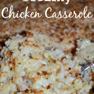 Creamy Chicken Casserole Cream Of Mushroom Soup Recipes