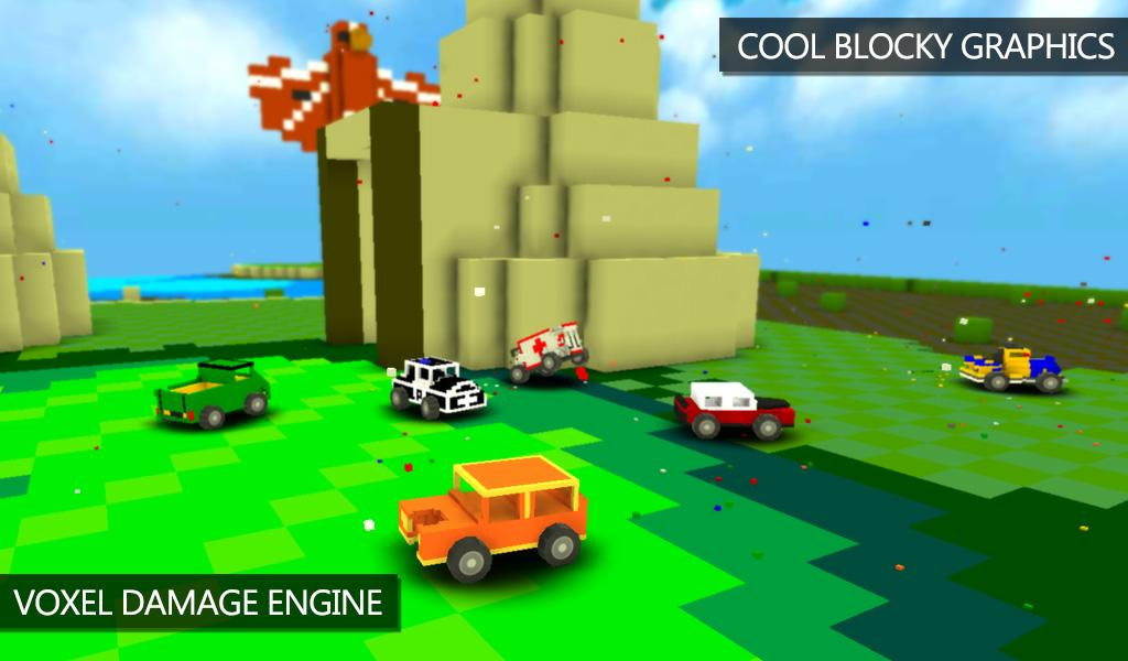 Blocky Demolition Derby Screenshot 3