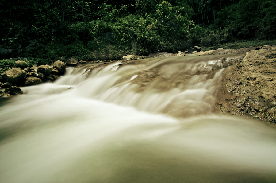 Island in the stream by Remus Nicolas Doroon - Landscapes Waterscapes ( water, stream, nature, cebu, falls, waterscapes, landscape, philippines, photography, river )