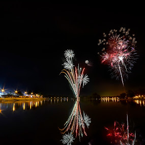 Fireworks Show by Mohammad Khairizal Afendy - Public Holidays New Year's Eve