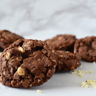 Double Chocolate, Bacon and Black Pepper Cookies